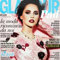 copertina glamour marzo 2012