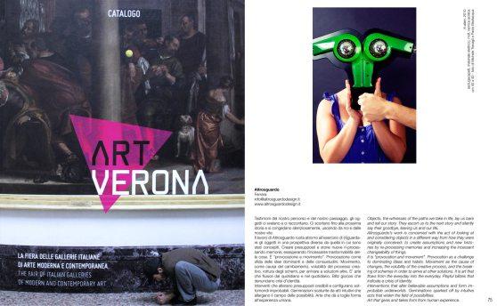 Altrosguardo Catalogo Art Verona 2011