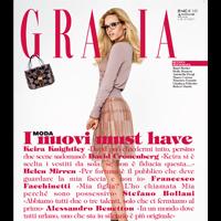 grazia magazine copertina