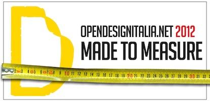 Open Design Italia banner