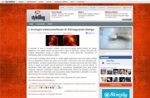 Altrosguardo Style Blog Maggio 2010