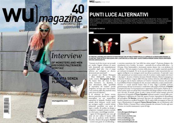 Altrosguardo Intervista WU Magazine Luglio 2013
