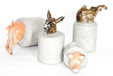 Animal Farm Mini-sculptures / Paperweights by Altrosguardo