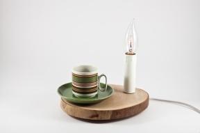Tronchetto lamp saucer by Altrosguardo