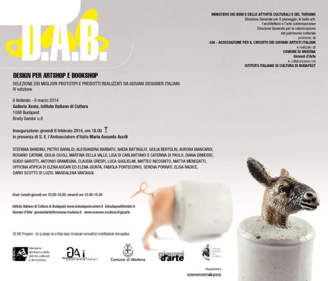 Altorsguardo at Budapest for DAB Design for artshop and bookshop