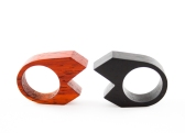 Prisma rings - Mod. PUNTA DOPPIA