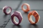 Prisma rings - Mod. BICOLOR